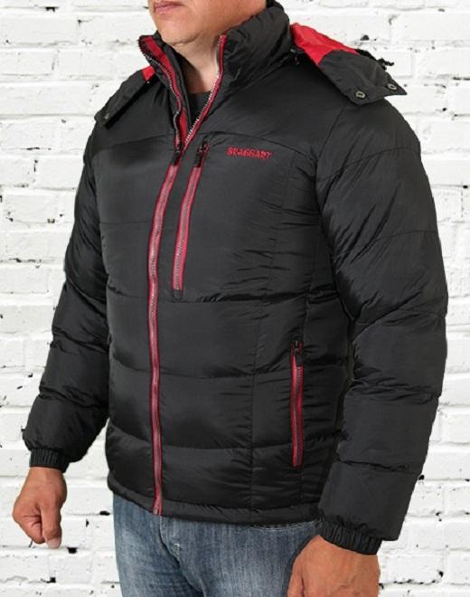 Зимняя куртка на тинсулейте мужская на фото