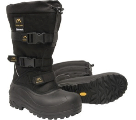 Пример обуви, выполненной из Ladi angle тинсулейт, на фото
