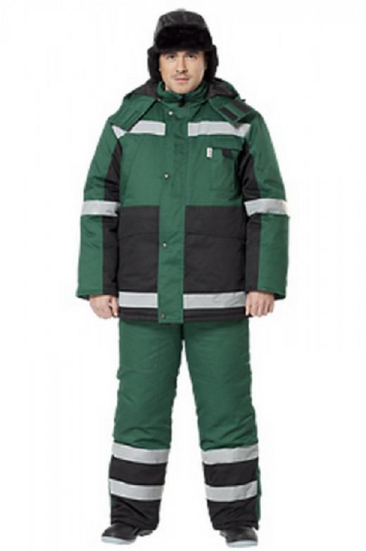 Зимний мужской костюм должен хорошо защищать от ветра