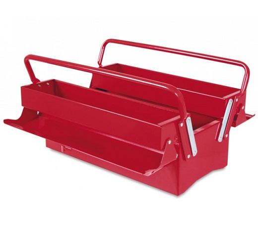 На снимке пример металлического раздвижного ящика для инструментов