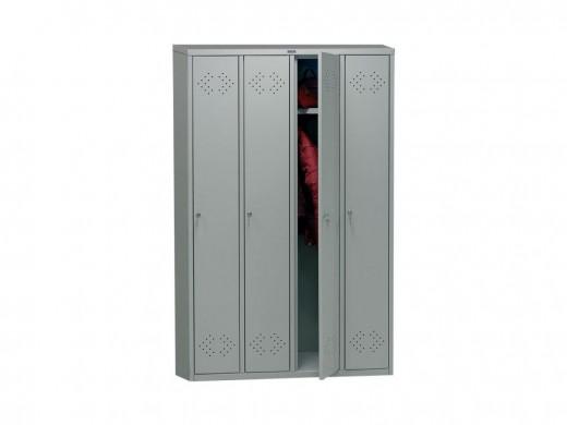 На фото пример металлического шкафа Практик