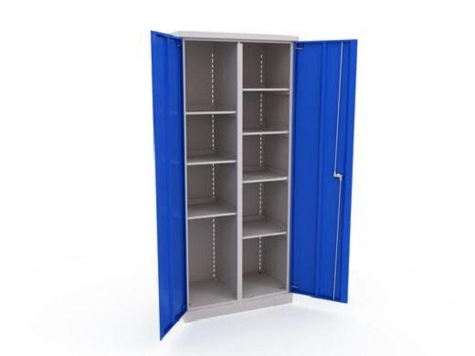 В цеху такой шкаф потребуется для хранения технической документации