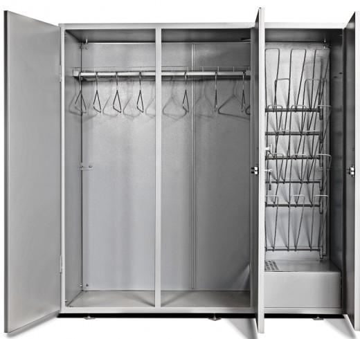 На фото представлен сушильный шкаф для одежды