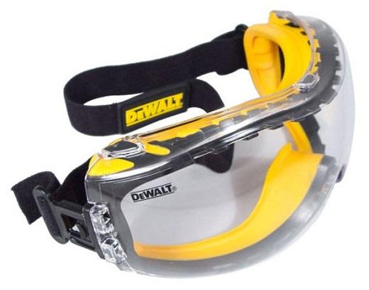 На снимке изображены защитные очки «DeWalt Concealer»