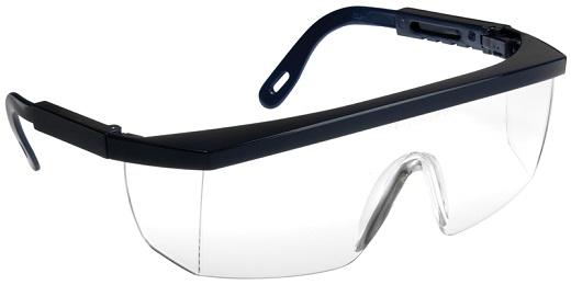 На фото представлены защитные очки открытого типа «Lux Optical»