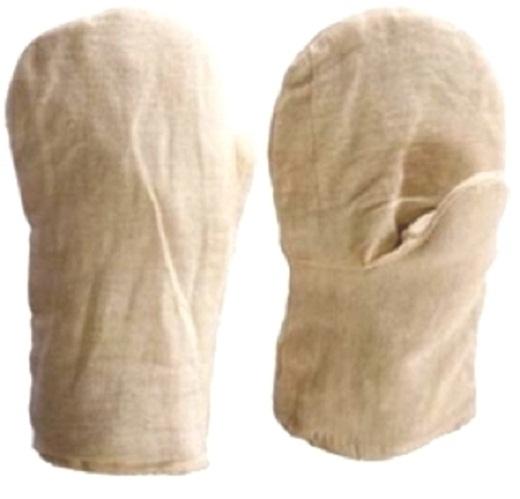 На снимке рабочие рукавицы из саржи