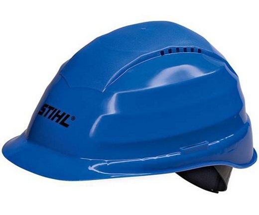 Голубая каска предназначена для горных спасателей