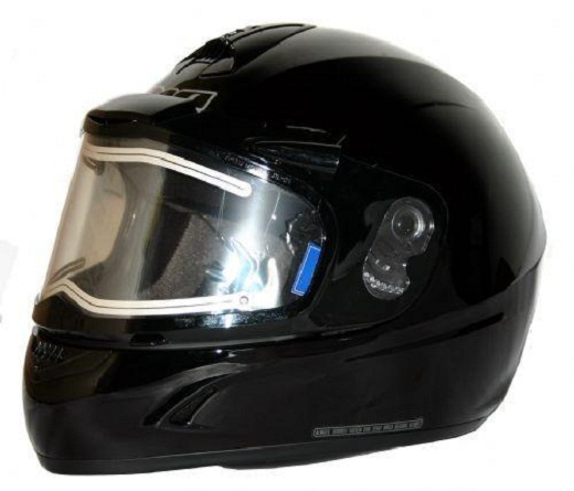 На снимке представлен шлем с подогревом