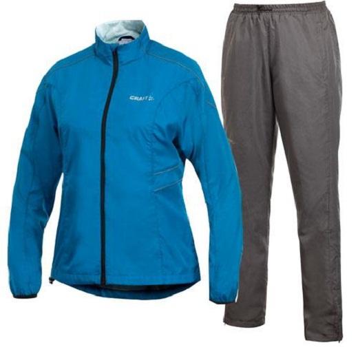 На снимке спортивная одежда из полиэстера