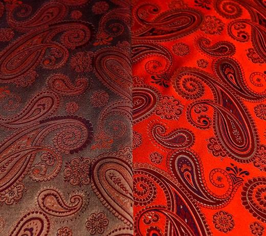 На фото представлен экземпляр портьерной ткани из коллекции Prestigio