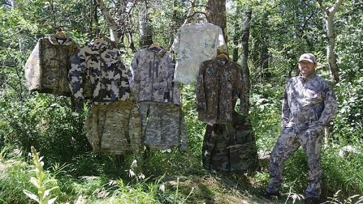 Камуфляж предпочитают использовать не только военные, но туристы с охотниками