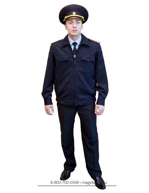 На снимке костюм «Полиция» летний производства Магеллан