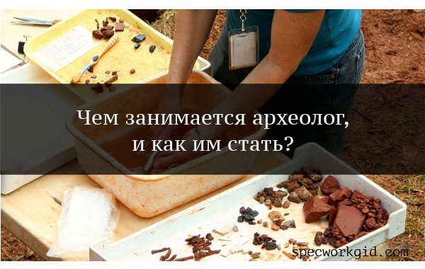 Археолог (профессия)