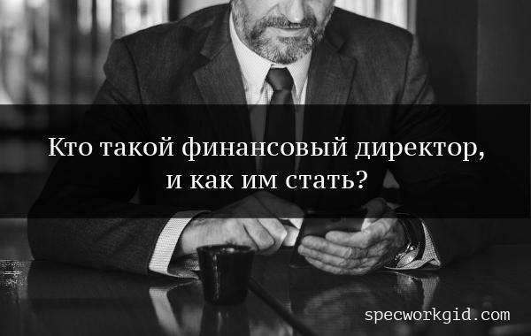 Обучение: финансовый директор
