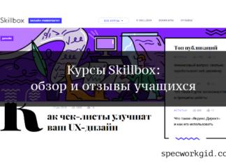 Отзывы о курсах Skillbox