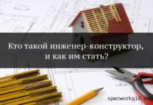 Профессия инженер-конструктор